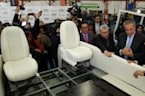 Colombia unveils outfitted Chevrolet Popemobile for Francis' visit