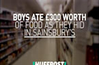Two Schoolboys Ate £300 Worth Of Food After Getting Locked In Sainsbury's Overnight