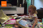 Kids Going Absolutely Nuts Opening Presents