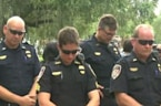 Tributes given for two slain Florida officers
