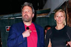 Ben Affleck and Lindsay Shookus Go On Dinner Date in NYC