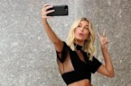 Hailey Baldwin Takes Selfie to Remember Victoria's Secret Casting Call