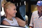 Gwen Stefani and Blake Shelton Lunch in LA