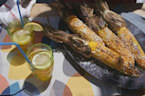 3-Ingredient Grilled Mexican Corn