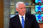 Trump 'deeply concerned' about Iran nuclear deal: Pence