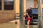 Dam on the verge of collapse in hurricane hit Puerto Rico