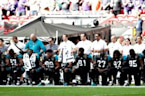 NFL players defiant after Trump's boycott remarks