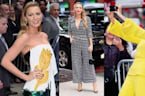 Blake Lively Wears Three Outfits in One Morning