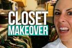 Joslyn's Mind-Blowing Closet MAKEOVER (Beauty Break)