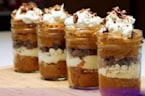 Pumpkin Gingersnap Parfaits Made With Store-Bought Pie