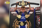 Kickboxing Kid Overcomes Disease to Become a Champion