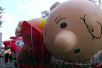 Charlie Brown, Hello Kitty pumped up for Macy's Thanksgiving Day parade