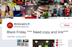 Twitter Is Lovin' McDonald's Black Friday Fail