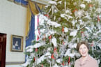 This Is What the White House Looked Like at Christmas the Year You Were Born