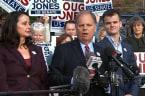 Doug Jones casts vote in Alabama special election