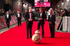 Royals turn out for 'Star Wars: The Last Jedi' premiere