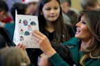 Melania Trump encourages 'giving back' during holiday season