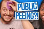 Peeing in Public: Guys vs. Girls (Dude View)