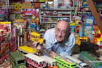 Man Sets World Record for Biggest Toy Bus Collection in the World