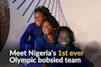 Nigeria's first bobsleigh team dreams of Olympics medal