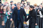 Meghan Markle and Prince Harry Just Visited a Castle Together