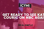 Get Ready to See Katie Couric on NBC Again!