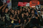 Philippine journalists and activists rally, demand press freedom