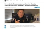 Former Assistant Police Chief Instructed Recruit To Shoot Black Teens If Caught Smoking Pot