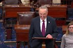 In second day of shutdown, Republicans, Democrats dig in for fight