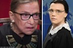 Ruth Bader Ginsburg Embraces 'Saturday Night Live' Impression
