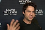 """Maze Runner: The Death Cure"" star talks fan support"