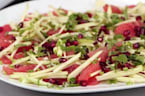 Grapefruit, Apple, and Pomegranate Salad LIVE