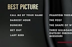 'Wonder Woman' stumbles, 'Get Out' surprises at Oscar nominations