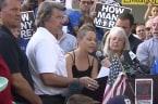 Florida survivor rallies for gun law reform