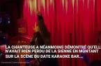 Une prestation épique de Lara Fabian dans un bar karaoké