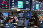 Dow, S&P snap winning streak as Walmart weighs