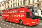 Bus against Brexit starts UK tour