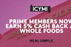 Prime Members Now Earn 5% Cash Back at Whole Foods