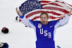 U.S. women's team claims ice hockey gold at Olympics