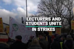 University Lecturers And Students Unite In Strikes Over Pension Row