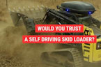 Self-driving skid loader hints at the job site of the future