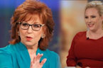 Tensions Grow On 'The View' Between Meghan McCain and Joy Behar