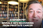 Stephen Fry Reveals He's Recovering From Prostate Cancer