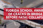 Florida school aware of cracks in bridge before fatal collapse