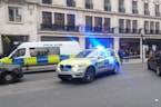 Thieves use sledgehammer to raid shop on London's Regent Street - eyewitness