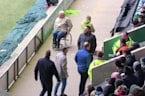 Soccer Fan Leaps Out of Wheelchair During Five-Goal Thriller