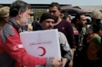 Turkish Red Crescent Delivers Aid to Afrin