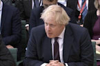 Britain's Johnson links poison attack to Russian election, likens World Cup to Hitler's Olympics