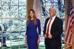 Melania Trump wird in Wachs gegossen und mit Lob überschüttet
