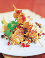 Chicken Skewers with Couscous